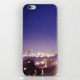 night life iPhone Skin