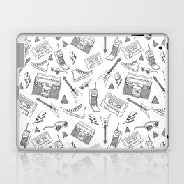 Livin in the 90s // Black & White Laptop & iPad Skin