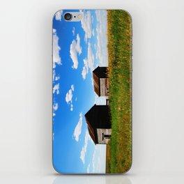 Barns on the Canadian Prairie iPhone Skin