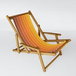 Gradient Arch - Vintage Orange Sling Chair