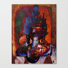 Dakini Wisdom Goddess #7 Dark Mirror Canvas Print