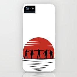 Zombie Controol (Moon headshot) iPhone Case