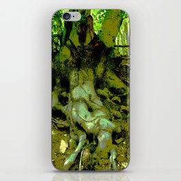 trunk of a tree iPhone Skin