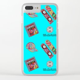 Where we are going we don't need roads Clear iPhone Case