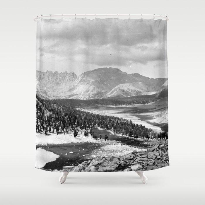 The Sierra Nevada: John Muir Wilderness, Sequoia National Park - California Shower Curtain