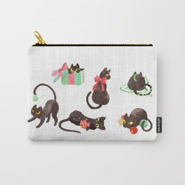 Holiday Cats Carry-All Pouch