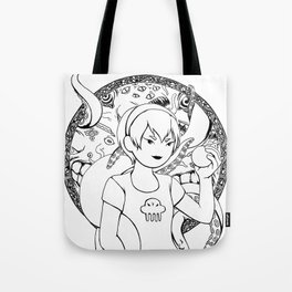 The one who sees it all Tote Bag