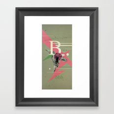 (Times) B Framed Art Print
