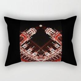 rorschach grand place brussels belgium Rectangular Pillow