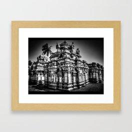 1,000 Year Old Chola Temple Framed Art Print