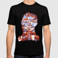 Red King Black MEDIUM Mens Fitted Tee
