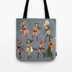 Sailors Assemble! Tote Bag