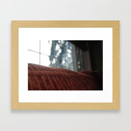 Cloudy Day Quiet Moment Framed Art Print