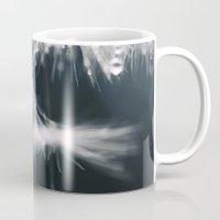 dandelion Mugs featuring dandelion by Ingrid Beddoes