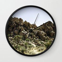 Joshua Tree Pangea Wall Clock
