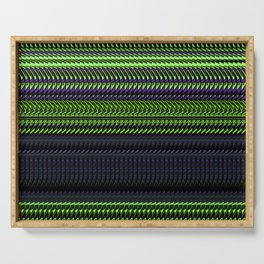 Apple Grape Rag Weave by Chris Sparks Serving Tray