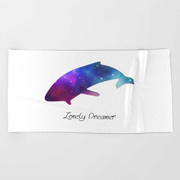 Lonely Dreamer 6 Beach Towel
