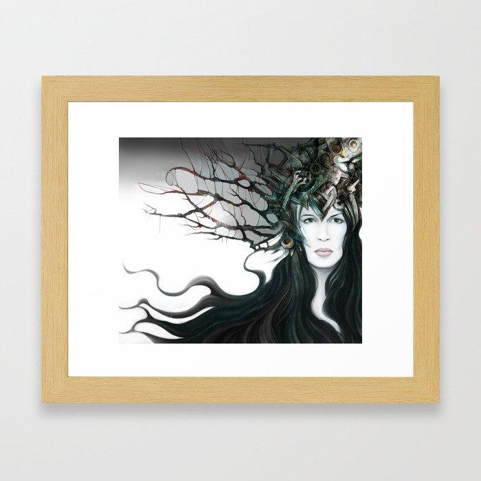 Kyrie Liaisons Framed Art Print