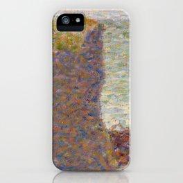 Study for Le Bec du Hoc, Grandcamp iPhone Case