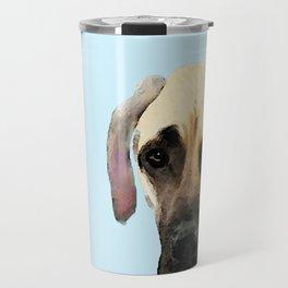 Great Dane Art - Dog Painting by Sharon Cummings Travel Mug
