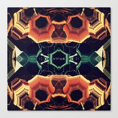 Virus Canvas Print