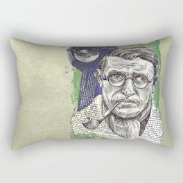 Sartre  - Nothingness Rectangular Pillow