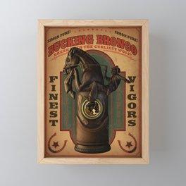 Bioshock Infinite - Bucking Bronco Vigor Framed Mini Art Print