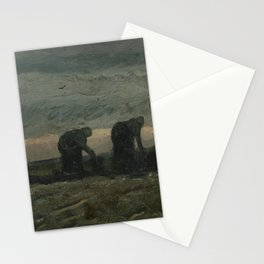 Two Women on the Peat Moor Stationery Cards