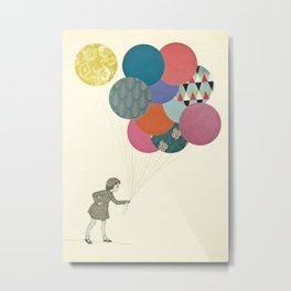 Party Girl Metal Print