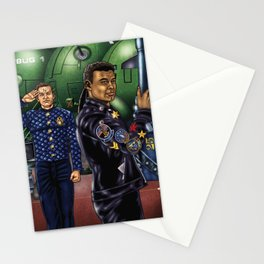 Boys From The Dwarf Stationery Cards