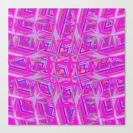 Abstract BB ZZZZZ Canvas Print