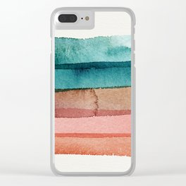 Cactus Flower Clear iPhone Case