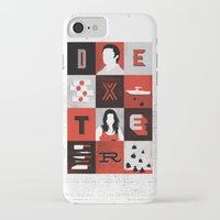 dexter iPhone & iPod Cases featuring Dexter by Bill Pyle