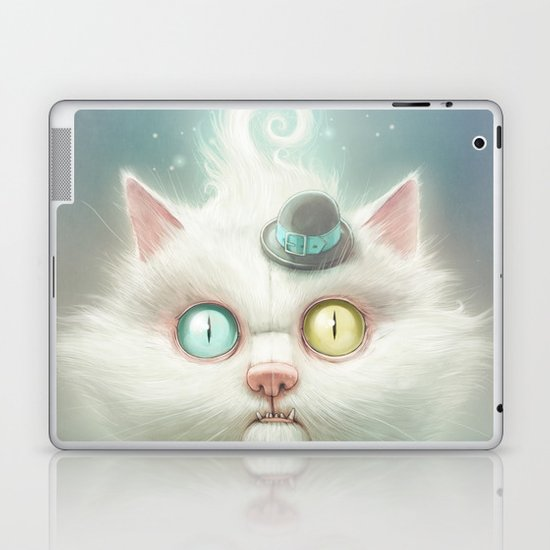 Release the Odd Kitty!!! Laptop & iPad Skin