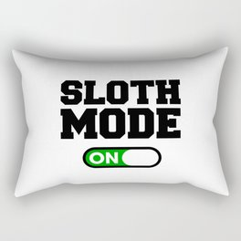 Sloth Mode Rectangular Pillow