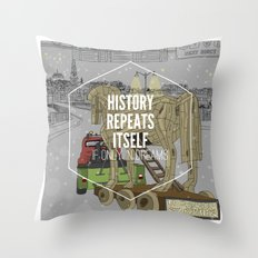 If only in dreams Throw Pillow