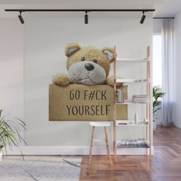 Go F#ck yourself with Wall Mural