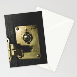 Locked Away Stationery Cards