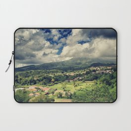 Mt. Pelee, Martinique Laptop Sleeve
