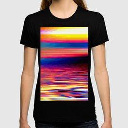 Beautiful colors wave #society6 T-shirt