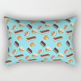 Android Eats: ice cream sandwich pattern Rectangular Pillow