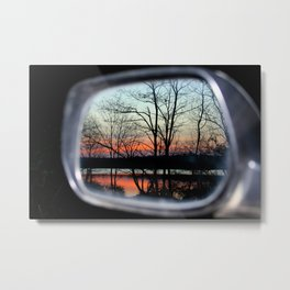 Leave Beauty Behind Metal Print