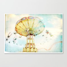 Step back into fun Canvas Print