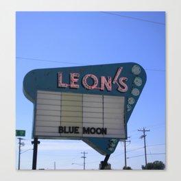Leon's Canvas Print