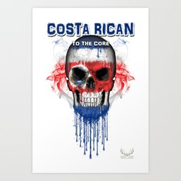 To The Core Collection: Costa Rica Art Print
