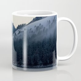 Last Light at Wallowa Lake Oregon Coffee Mug