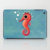 seahorse iPad Cases featuring Seahorse by Anoosha Syed