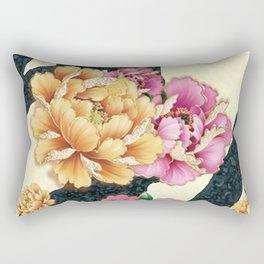 blossom in the heart Rectangular Pillow