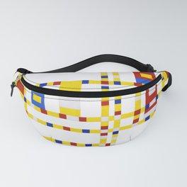 12,000pixel-500dpi - Broadway Boogie Woogie - Piet Mondrian Fanny Pack