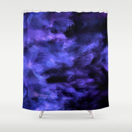 Colors of Blue Shower Curtain